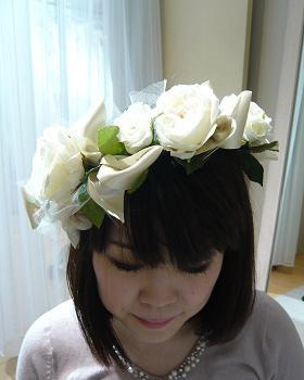 花冠-白正面