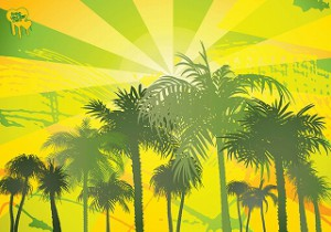 s-FreeVector-Palm-Trees